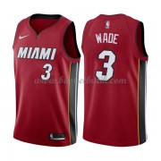 Miami Heat Basket Tröja 2018 Dwyane Wade 3# Statement Edition..